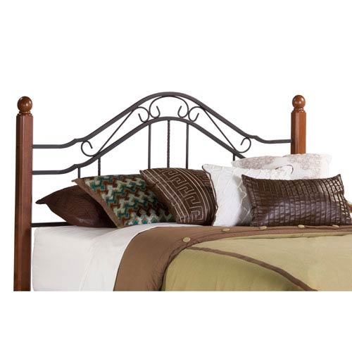 1010HK Madison Headboard King Rails not included by Hillsdale