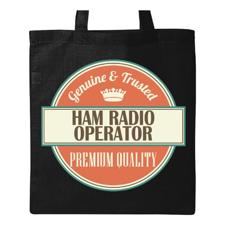 - Ham Radio Operator Funny Gift Idea Tote Bag Black One Size