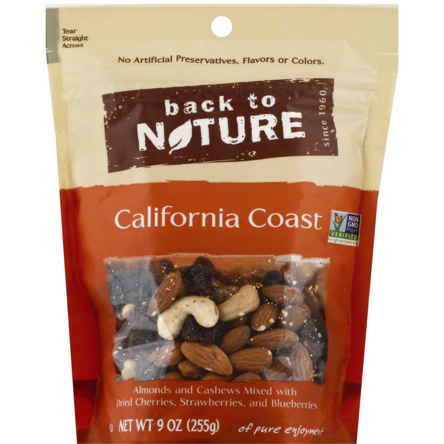 Back To Nature California Coast Nut Blend, 9 oz, (Pack of 9)