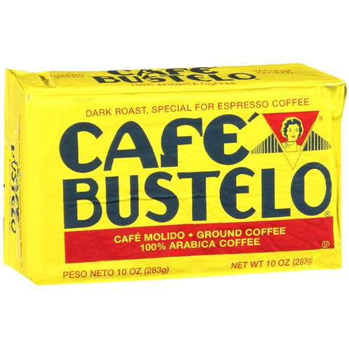 Cafe Bustelo Ground Coffee, 10 oz