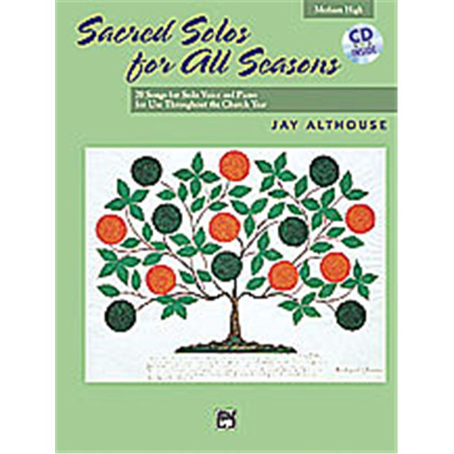 Alfred 00-21172 Sacred Solos for All Seasons Music Book by Alfred