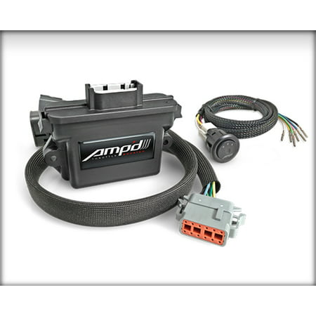 Edge Products 28867-D AMPd Throttle Booster; w/Power Switch; 6 Settings;