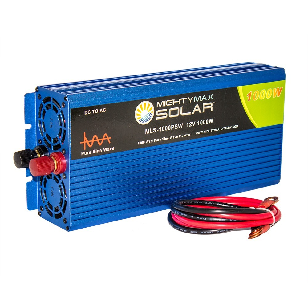 12V 1000 Watt Pure Sine Wave AC Power Inverter with USB Port