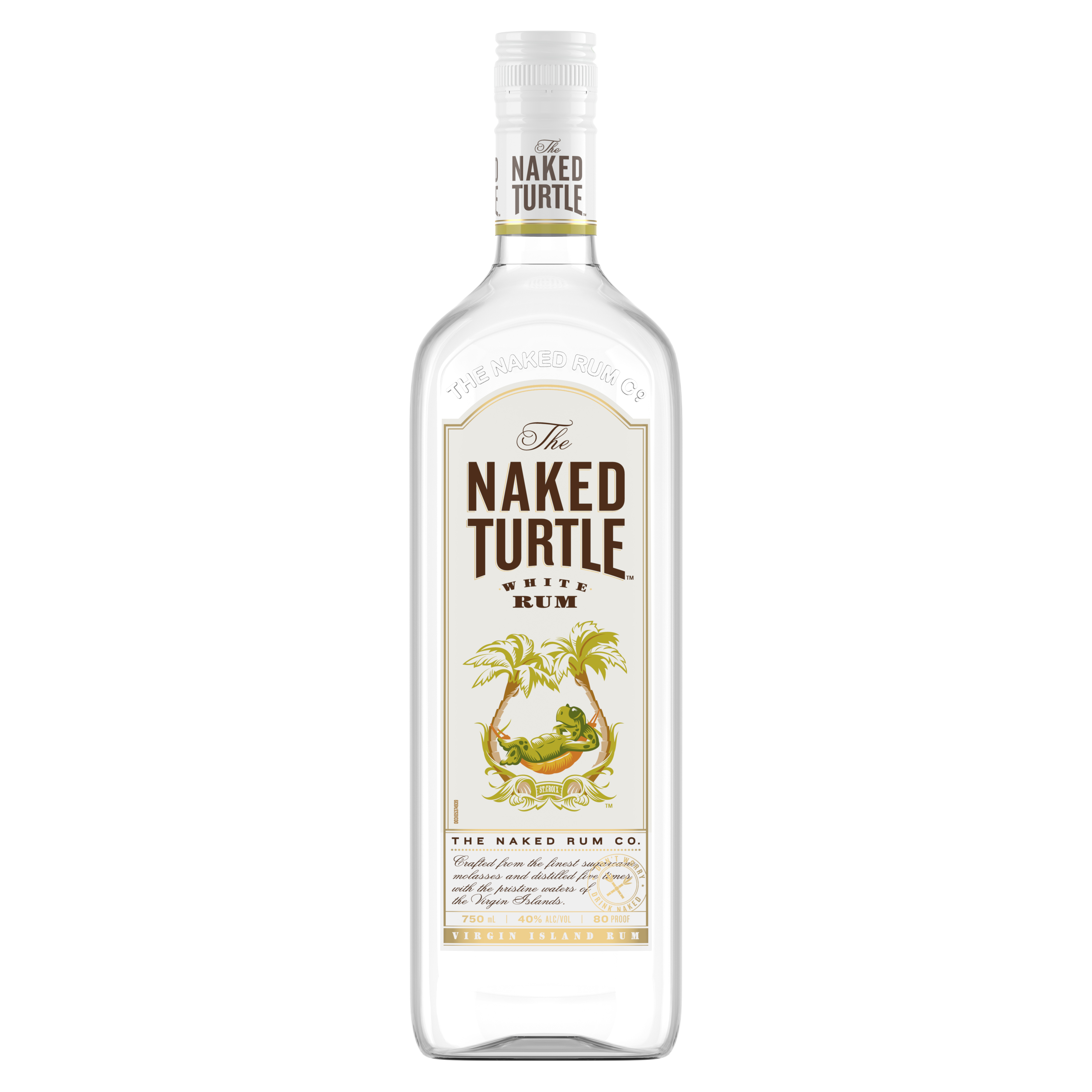 The Naked Turtle White Rum, 750 mL (80 Proof) - Walmart
