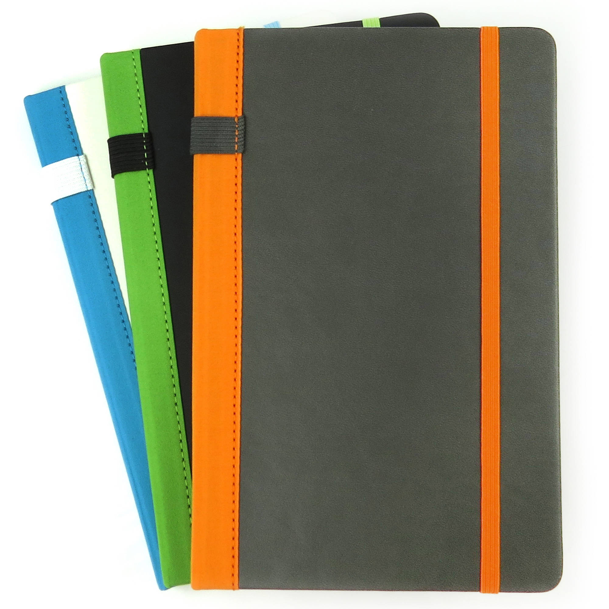Paperworks Peninsula Fashion Notebook, 3-Pack