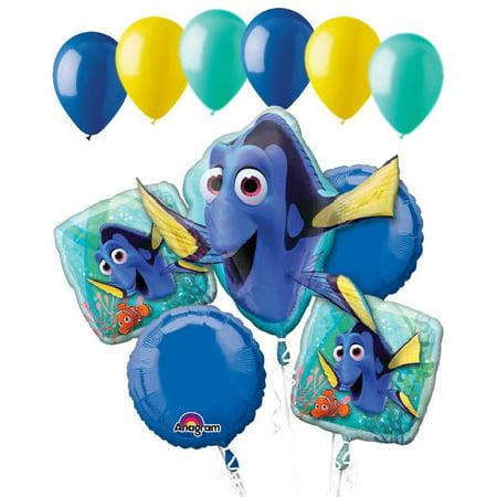Finding Nemo Birthday Party (11 pc Finding Dory Balloon Bouquet Party Decoration Pixar Disney Nemo)
