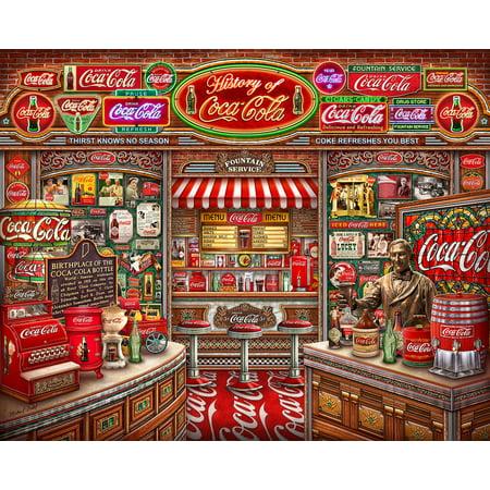 Springbok Coca Cola History 1000 Piece Jigsaw (Coca Cola Jigsaw Puzzle)