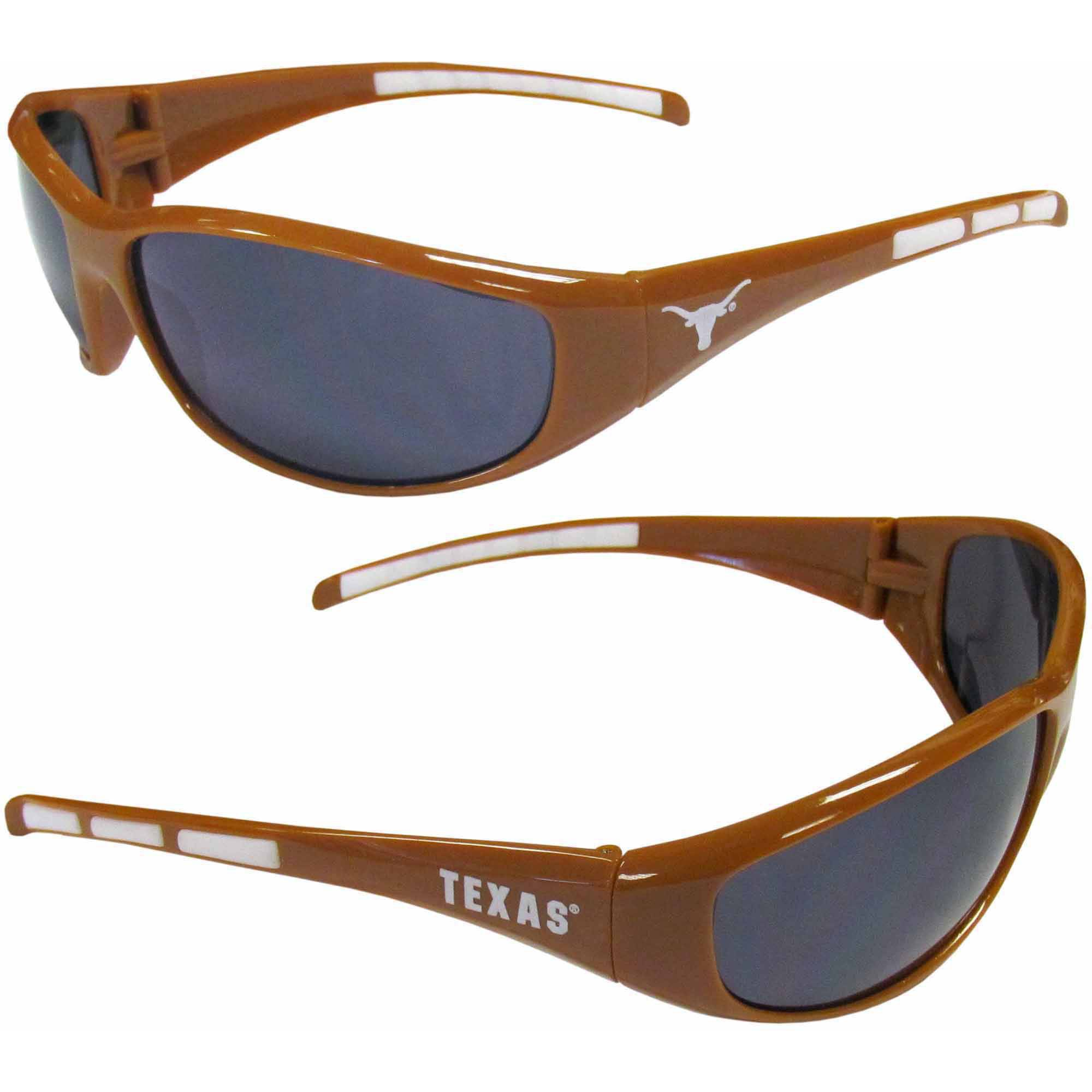 NCAA Texas Wrap Sunglasses