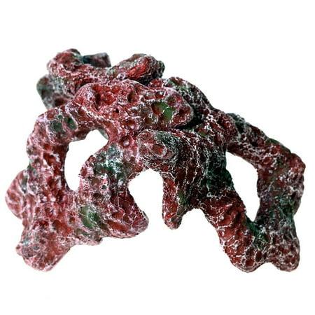 Marine Fish Coral - 3 LIVE ROCKceramic (M) IMITATION CORAL REEF AQUARIUM DECOR marine Cichlids tank