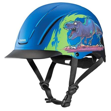 Horse Riding Helmet - Medium Troxel Full Coverage Design Optimal Comfort Horse Riding Helmet T Rex
