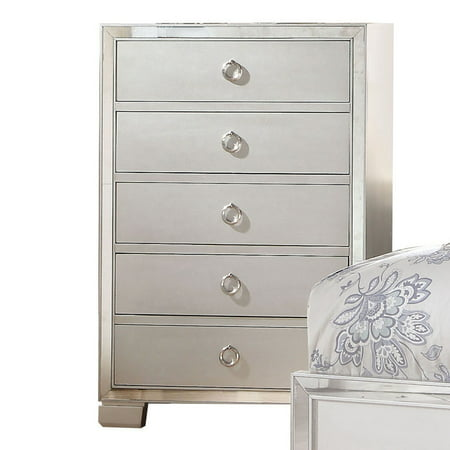 Acme Furniture Voeville II Platinum Bedroom Chest ()