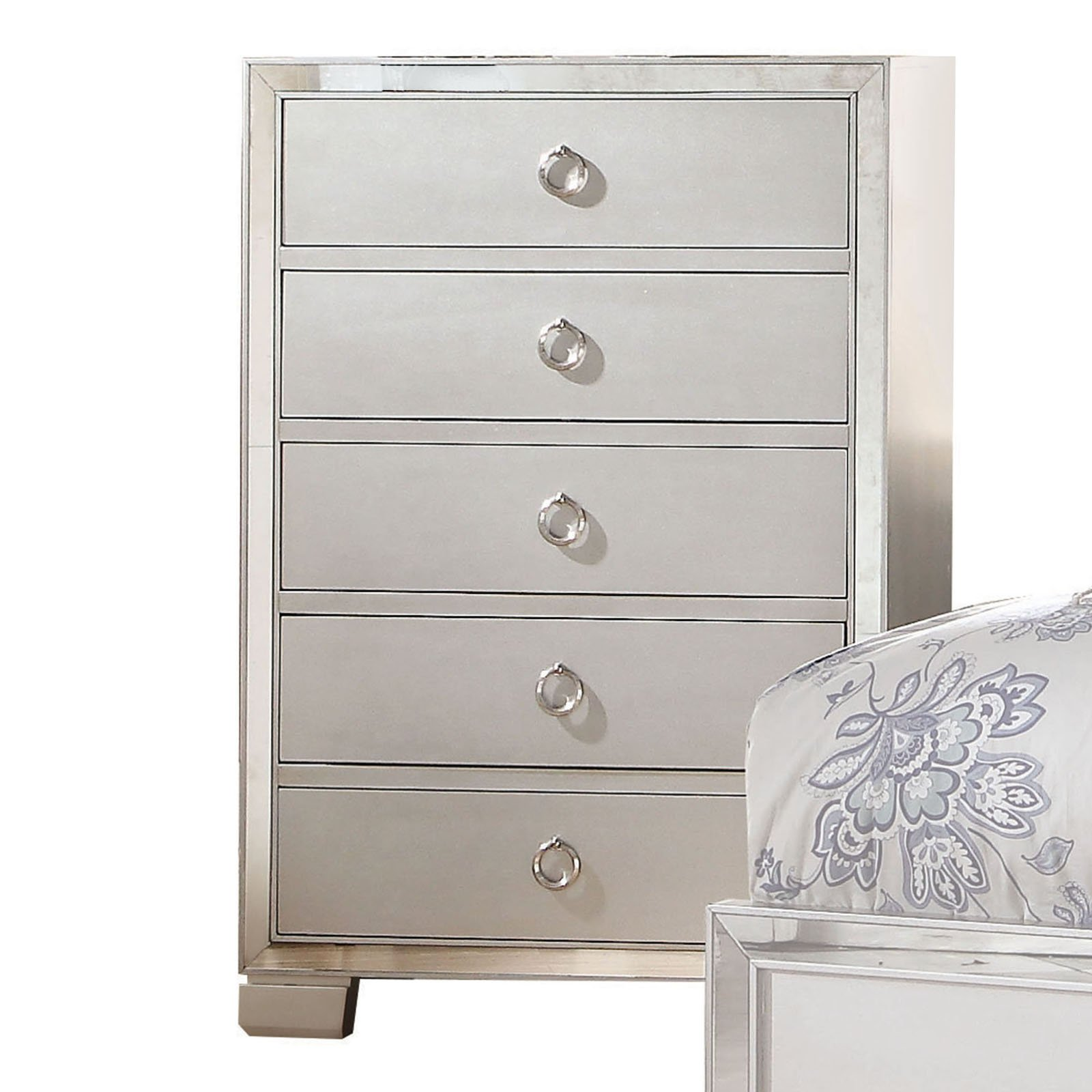 Acme Furniture Voeville II Platinum Bedroom Chest