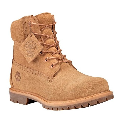 "Women's Timberland Icon 6"" Premium Suede Waterproof Boot by Timberland"
