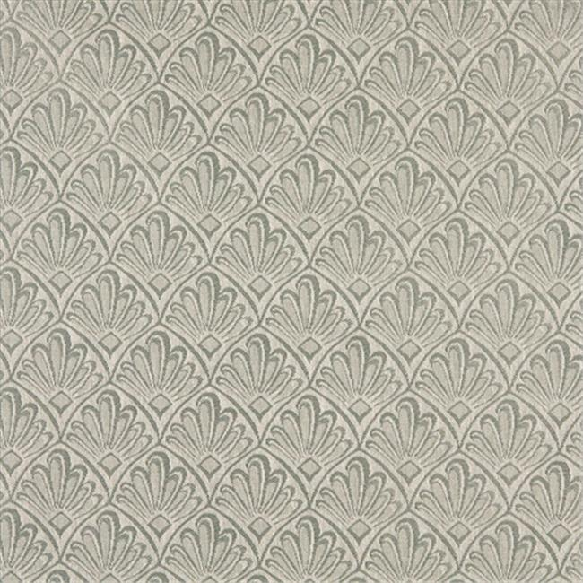 Designer Fabrics A120 54 in. Wide Light Green Two Toned Fan Upholstery Fabric