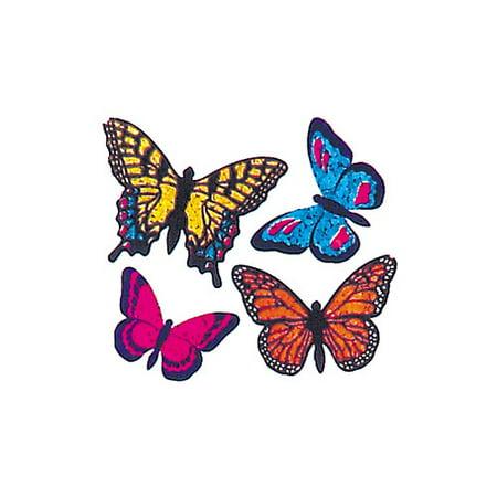 Jillson & Roberts Prismatic Bulk Roll Mini Butterfly - Roll Stickers