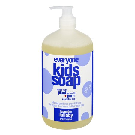 Everyone  3 In 1 Soap For Kids  Lavender Lullaby  32 Oz