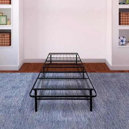 mattress in a box walmart. best price mattress® innovative steel platform bed frame / raiser box spring replacement mattress in a walmart
