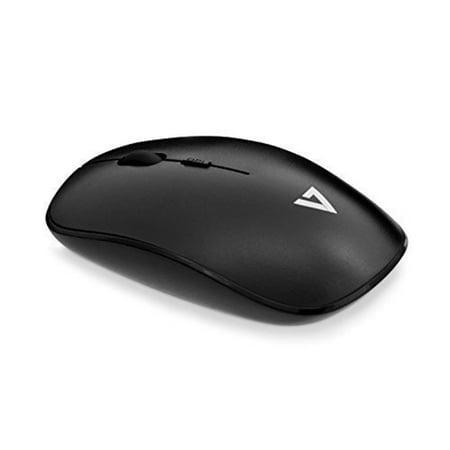 V7 Wireless 4 Button 1600DPI Optical Mouse - 2.4GHZ