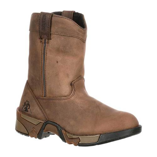 Boys' Rocky Aztec Pull-On Boot 3638 by Rocky