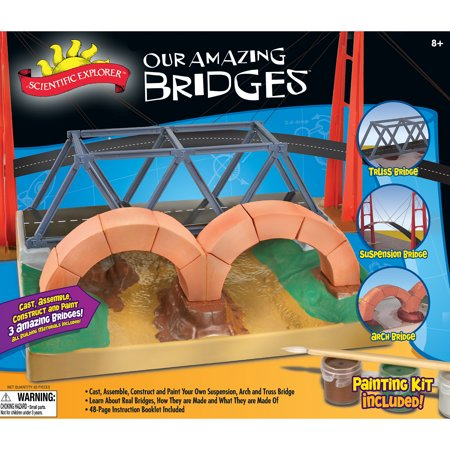 Slinky Science Our Amazing Bridges Architecture Kit