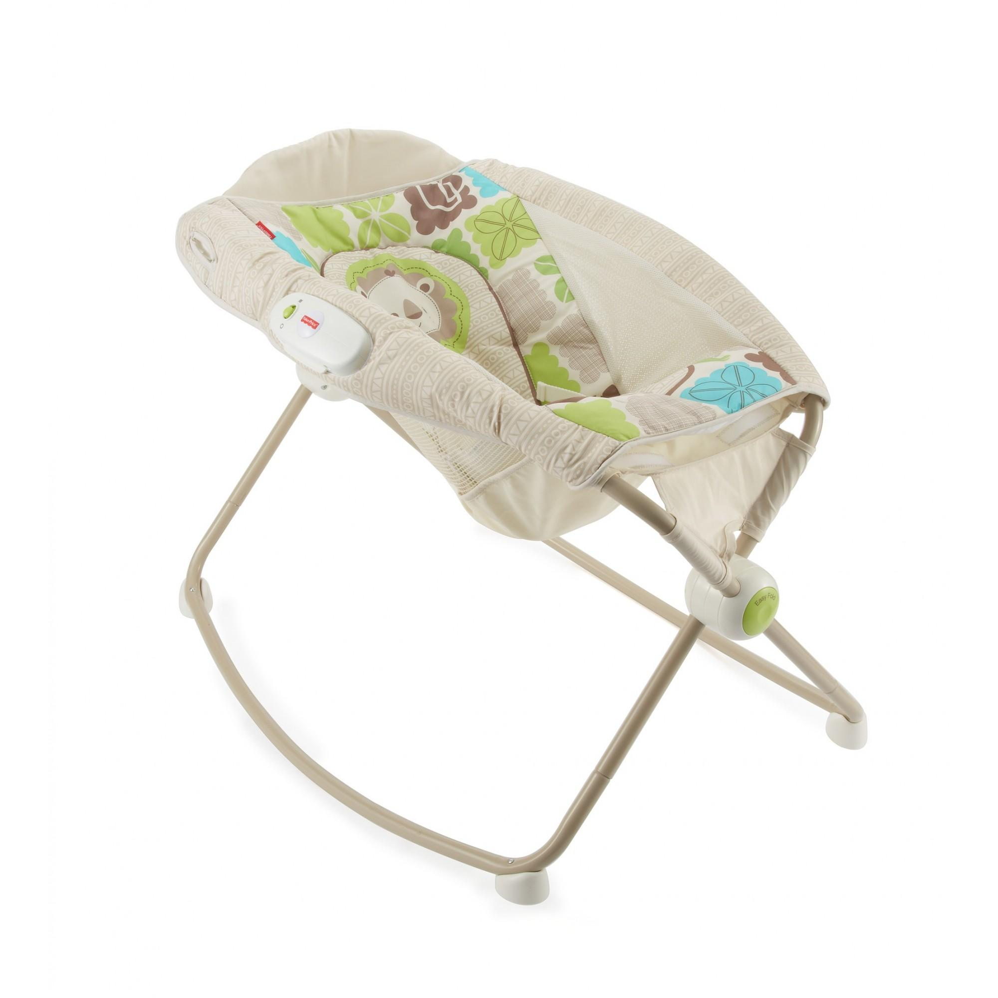 Fisher-Price Rainforest Friends Newborn Rock 'n Play Sleeper