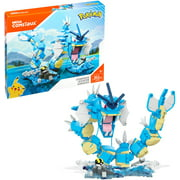 Mega Construx Pokemon Gyarados Construction Set with character figures, Building Toys for Kids (352 Pieces)
