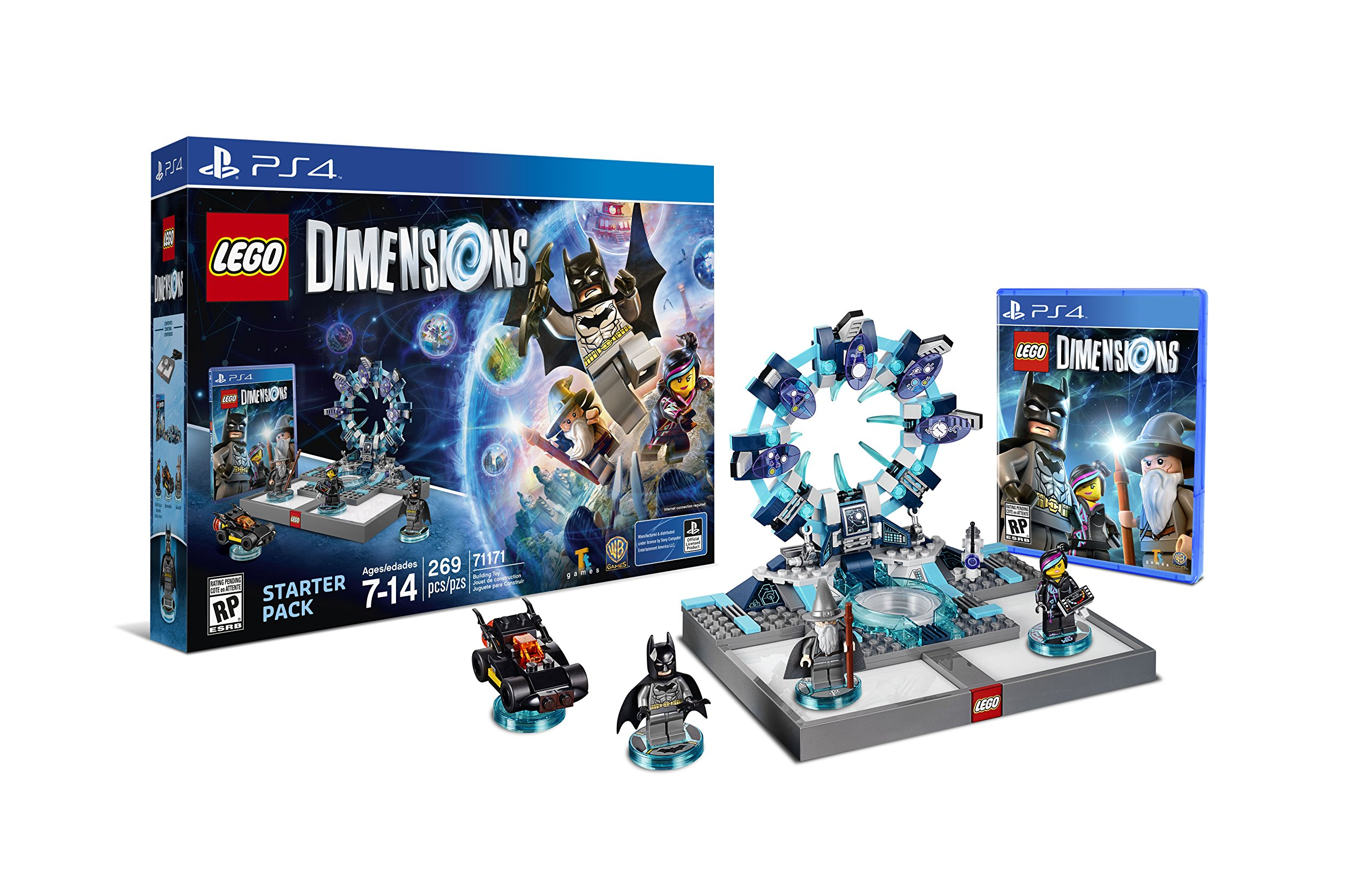 Warner Bros Lego Dimensions Starter Pack Ps4 Sony World