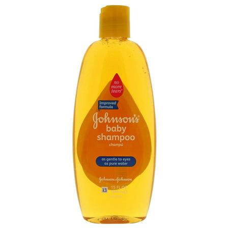 Johnson and Johnson Baby Shampoo, 15 Ounce