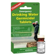 Coghlan's Emergency Drinking Water Germicidal Tablets - 50 Tablets