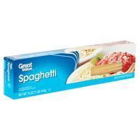 Great Value Spaghetti Pasta, 16 oz