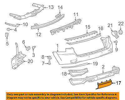 11-16 Pair of Rear Air Suspension Spring For Jeep Grand Cherokee 4-Door