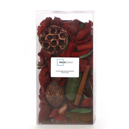 Elegant Expressions 18oz Dried Potpourri, Caramel Apple Chestnut, Deep Red - Caramel Apple Ideas