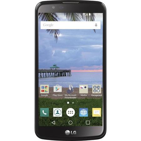Straight Talk LG Premier 8GB Prepaid Smartphone, Black