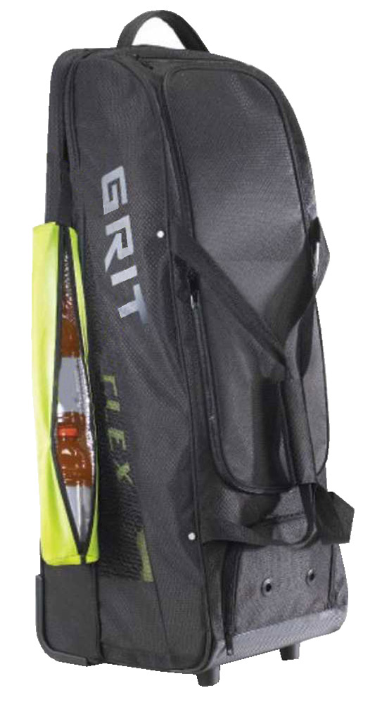 "Grit Inc. Baseball 36"" BB2 Ball Tower Wheel Equipment Bag, Black BB2-036-B by Grit Inc."