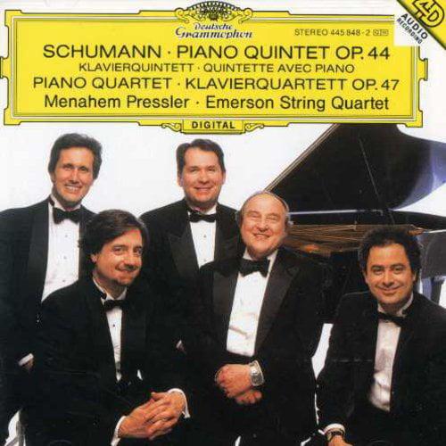 Pressler/Emerson String Quartet - Schumann: Op. Nos. 44 & 47 [CD]