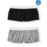 283e7095399 Product Image No Boundaries Juniors' Roll Waist Shorts 2-Pack Value Bundle