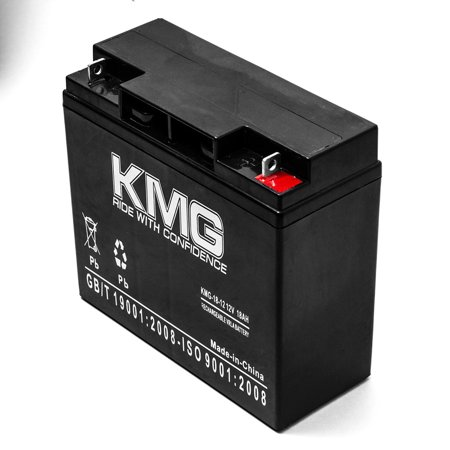 12V 18Ah Replacement Battery for UNION BATTERY MX12070 / MX12180 / PW1217 - image 3 de 3