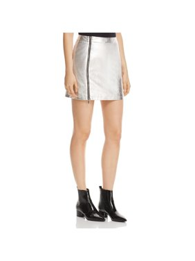 2850e304a Product Image French Connection Womens Audrey Metallic Night Out Mini Skirt
