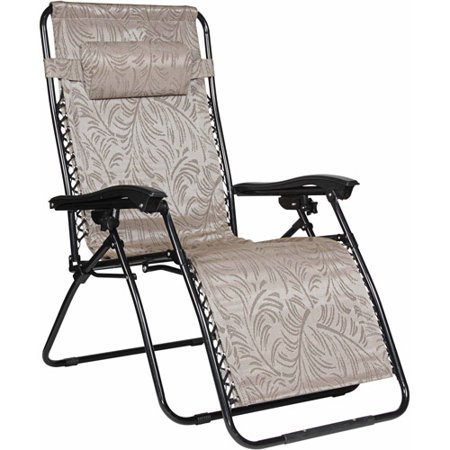 Camco Large Zero Gravity Chair  Tan