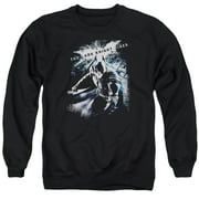 Dark Knight Rises More Than A Man Mens Crewneck Sweatshirt
