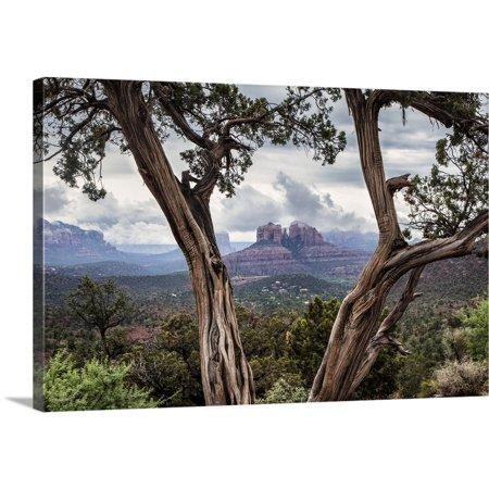 - Great BIG Canvas   Scott Stulberg Premium Thick-Wrap Canvas entitled Storm over Cathedral Rocks in Sedona, Arizona