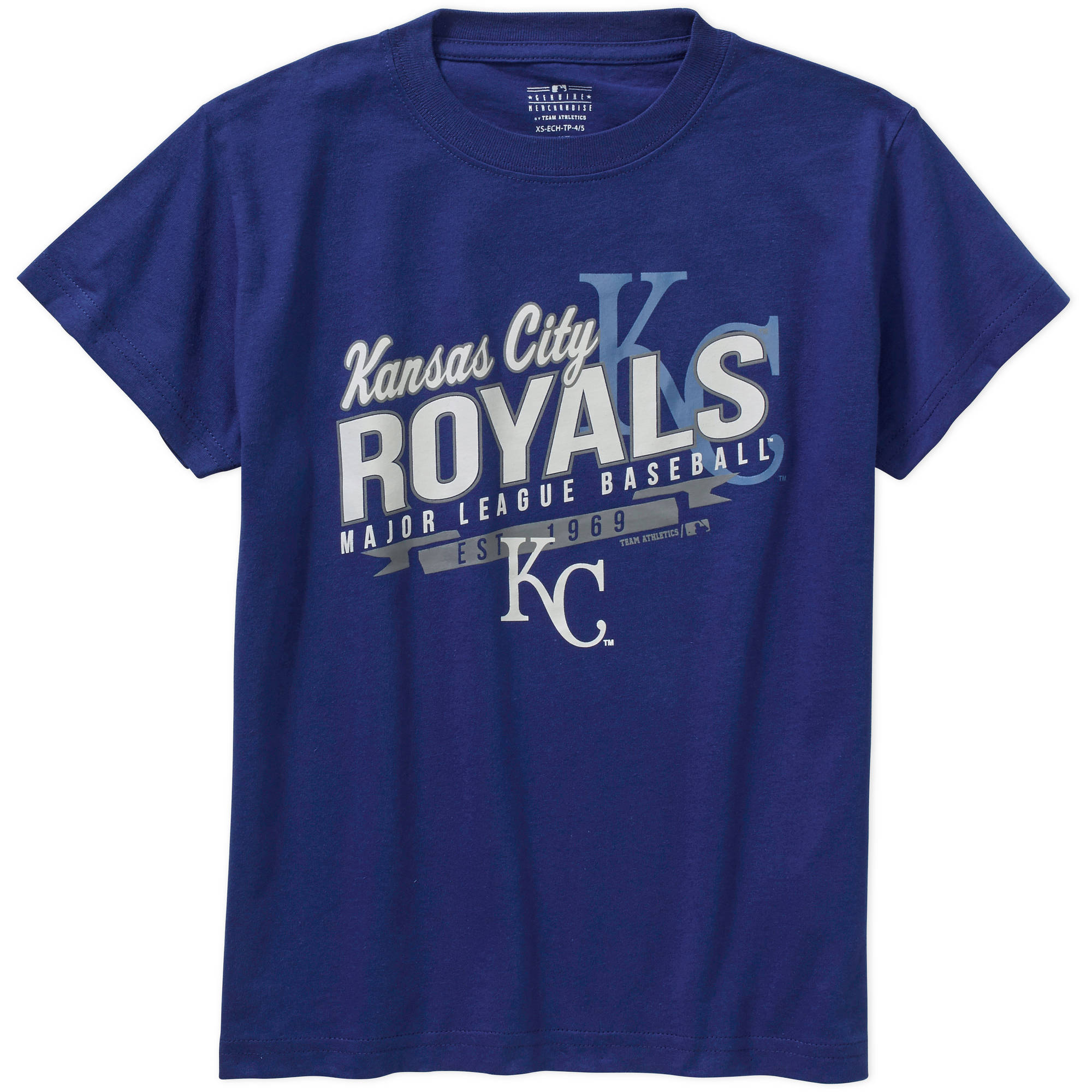 MLB  Boys Kansas City Royals Team Short Sleeve Tee