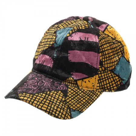Baseball Cap - NBC - Sally Sublimated Dress Pattern Velvet Dad New ba5p0pnbc