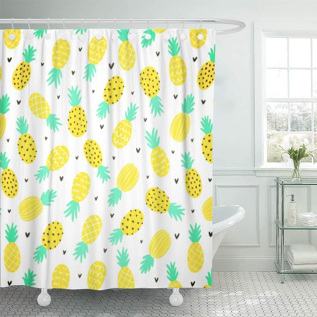 CYNLON Tropical Pretty Pineapple Pattern Tropically