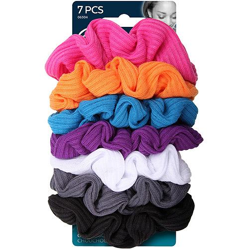 Goody Ouchless Twisters Gentle Scrunchies, 7 count
