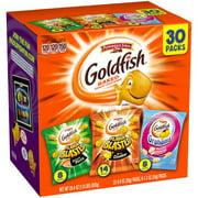 Pepperidge Farm Goldfish Baked Snack Crackers Variety Pack, 30 ct, 29.4 oz