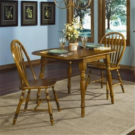 Brooks Furniture 23642 14 Square Round Drop Leaf Table Legacy Oak