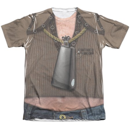 With snl ace sublimated costume tshirt