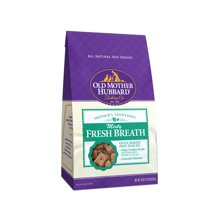 Dog Treats: Old Mother Hubbard Minty Fresh Breath Dog Biscuits