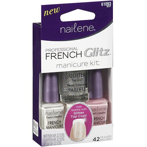 Nailene Professional French Glitz Manicure Kit